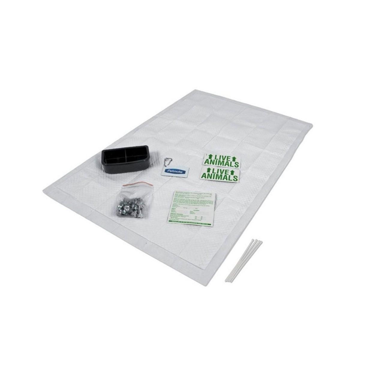 Zubehör-Set für Hundebox, Transportbox, Flugbox VARI Kennel II
