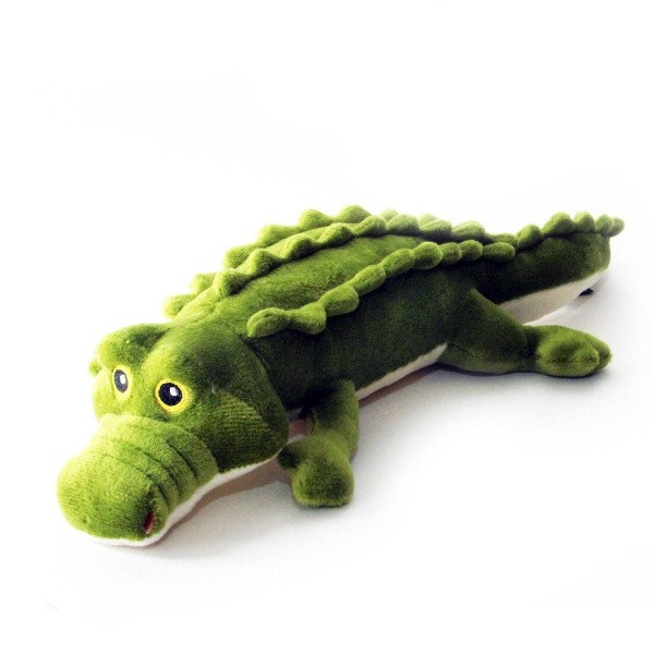 Hundespielzeug Krokodil Plüsch