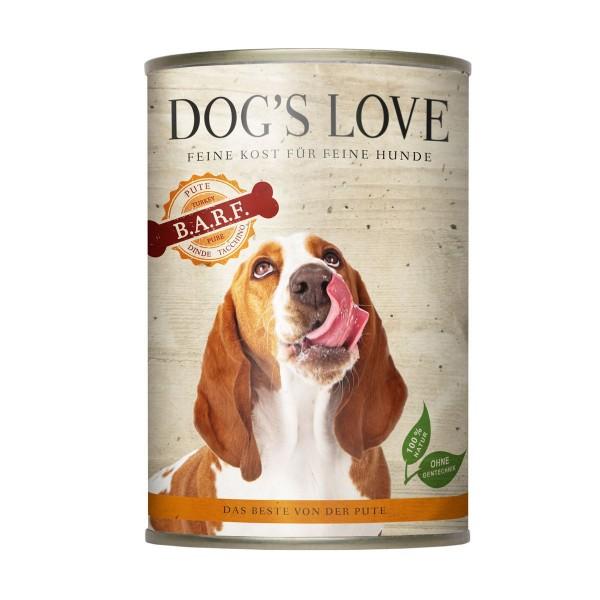 Dogs Love B.A.R.F. Pute