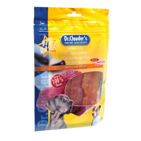 Dr. Clauders Best Choice Hühnerbrustfilet 10 x 80 g