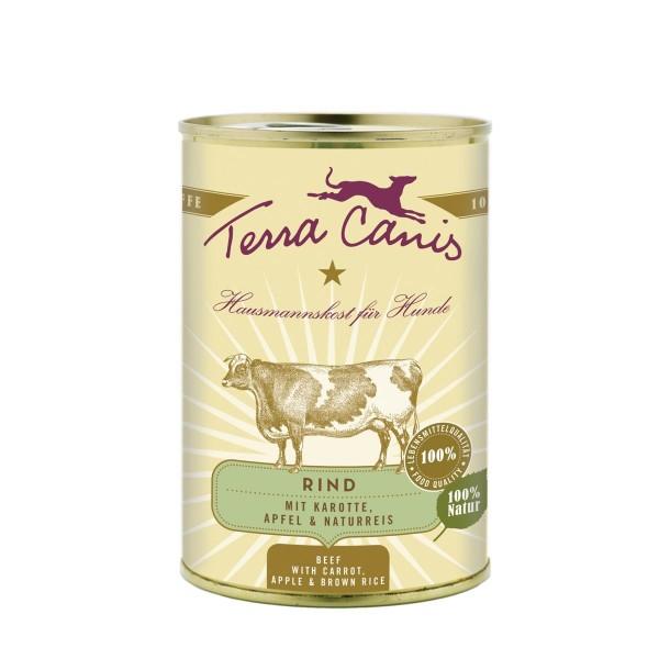 Terra Canis Menü Classic Rind mit Karotte, Apfel und Naturreis alt