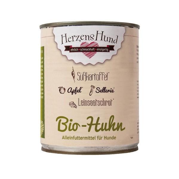 Herzenshund Bio Huhn mit Bio Süßkartoffel