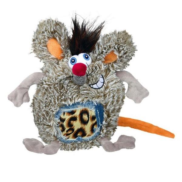 Plüsch Ratte Rolf mit Stimme