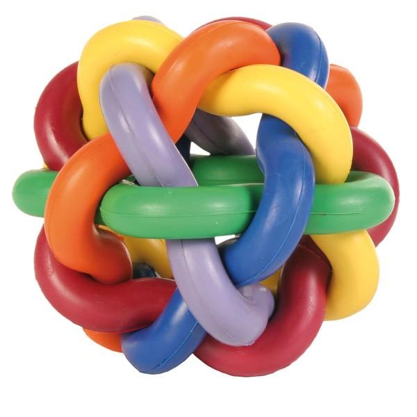Knotenball aus Naturgummi