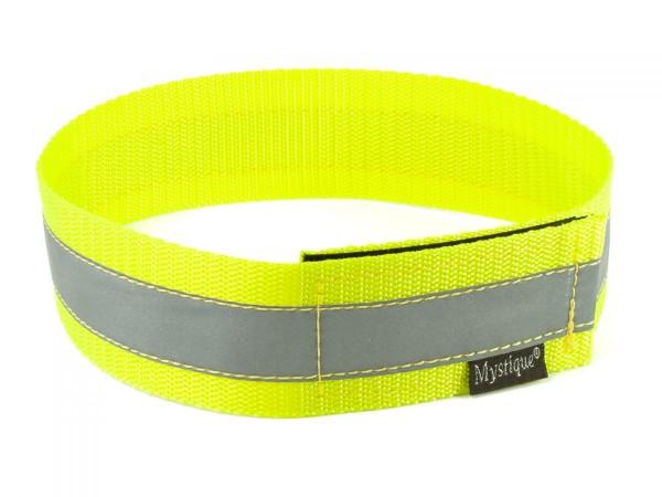 Signalhalsband reflektierend neon-gelb