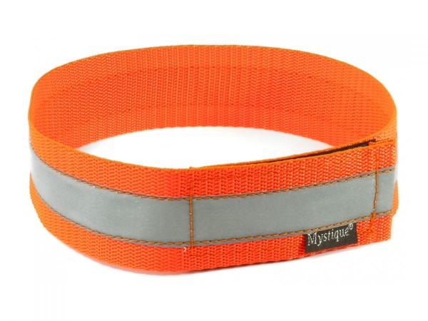 Signalhalsband reflektierend neon-orange