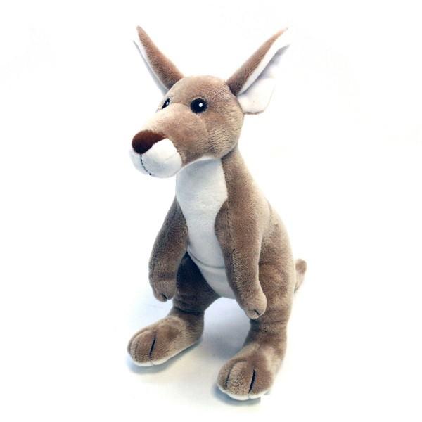 Hundespielzeug Känguru Plüsch