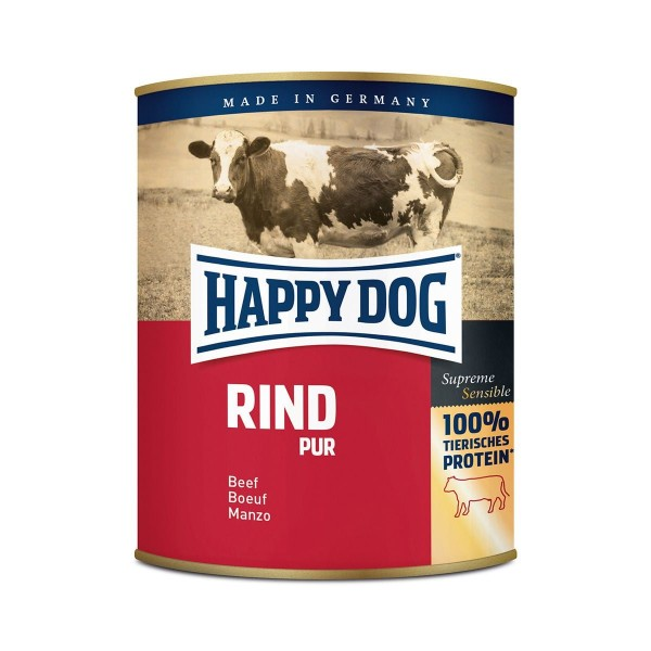 Happy Dog Rind Pur Nassfutter