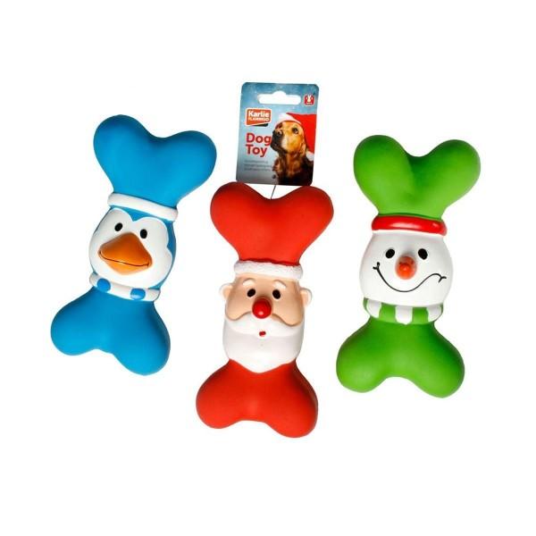 Weihnachtsspielzeug Latex Knochen