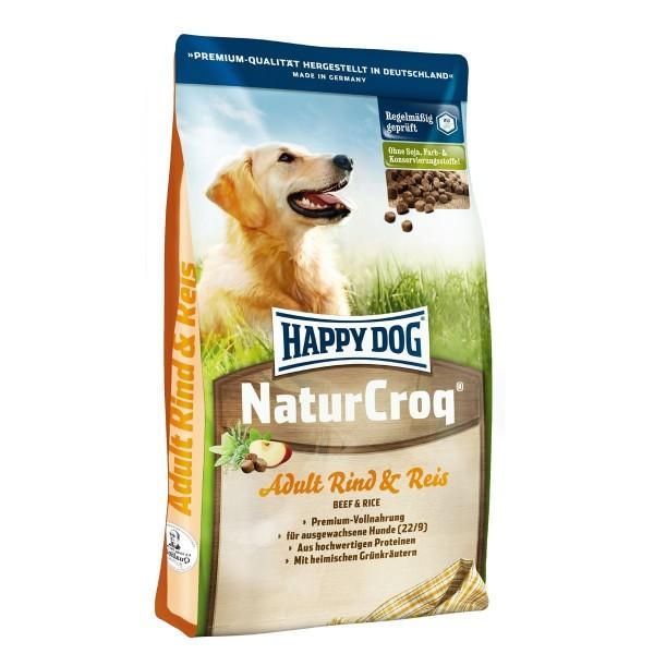 Happy Dog Natur Croq Rind & Reis