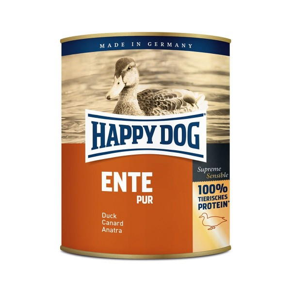 Happy Dog Ente Pur Nassfutter
