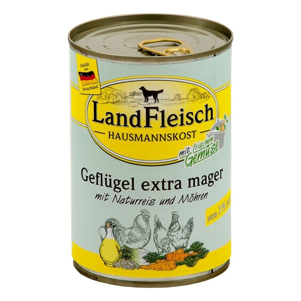 Landfleisch Hausmannskost Geflügel extra mager