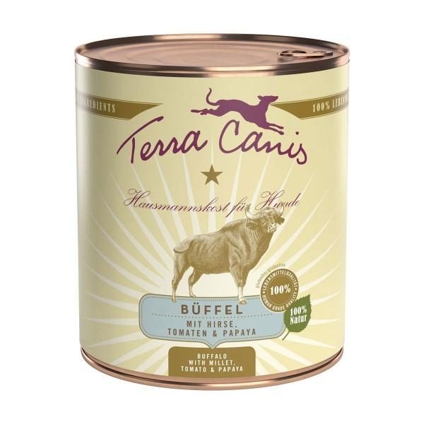 Terra Canis Menü Classic Büffel mit Hirse, Tomate und Papaya