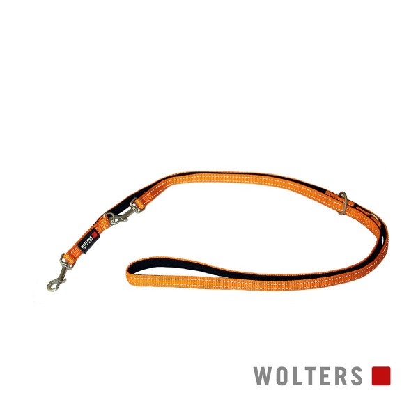 Wolters Soft & Safe Führleine orange