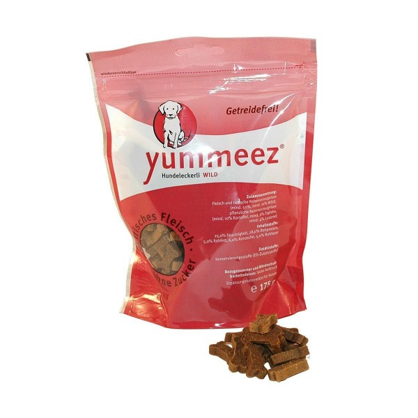 Yummeez Hundesnacks Getreidefrei Wild