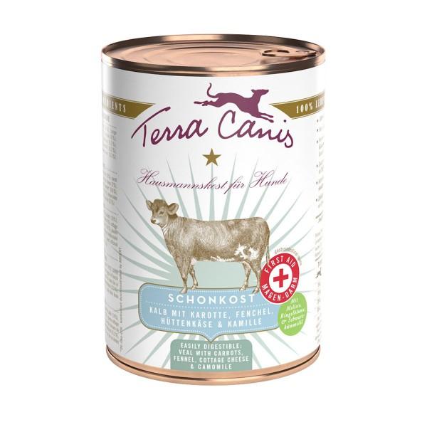 Terra Canis Schonkost First Aid Menü Kalb