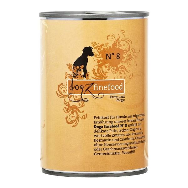Dogz finefood no. 8 Pute und Ziege