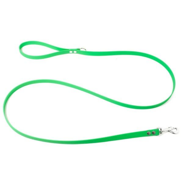 Mystique Biothane Leine neon grün