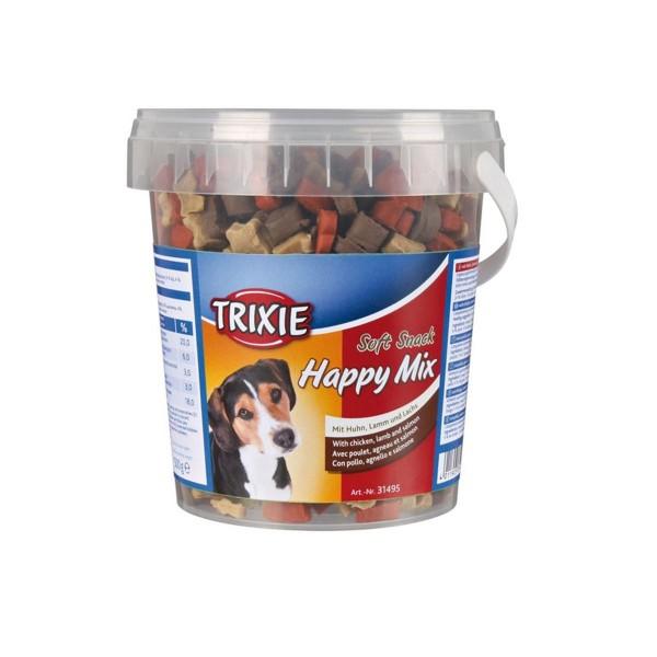 Trixie Soft Snack Happy Mix mit Huhn, Lamm und Lachs