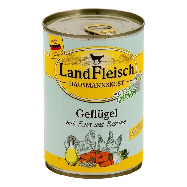 Landfleisch Hausmannskost Senior Geflügel & Reis