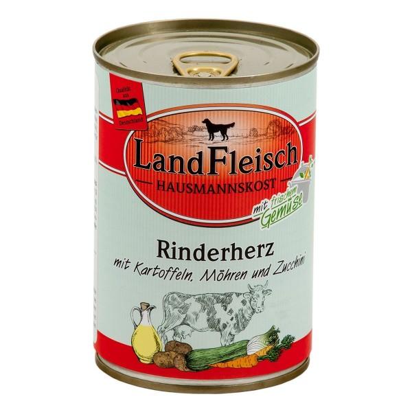 Landfleisch Hausmannskost Rinderherz & Kartoffeln