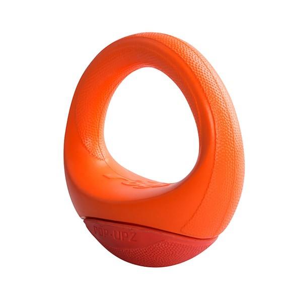 Rogz POP UPZ Wurfring orange