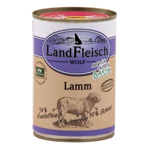Landfleisch Wolf Sensibel Lamm