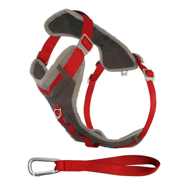 Kurgo Journey Adventure Harness red/charcoal