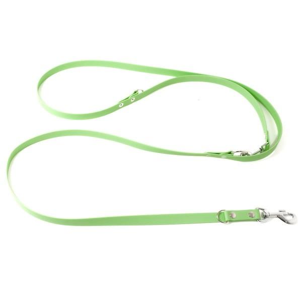Mystique Biothane Leine verstellbar pastell grün