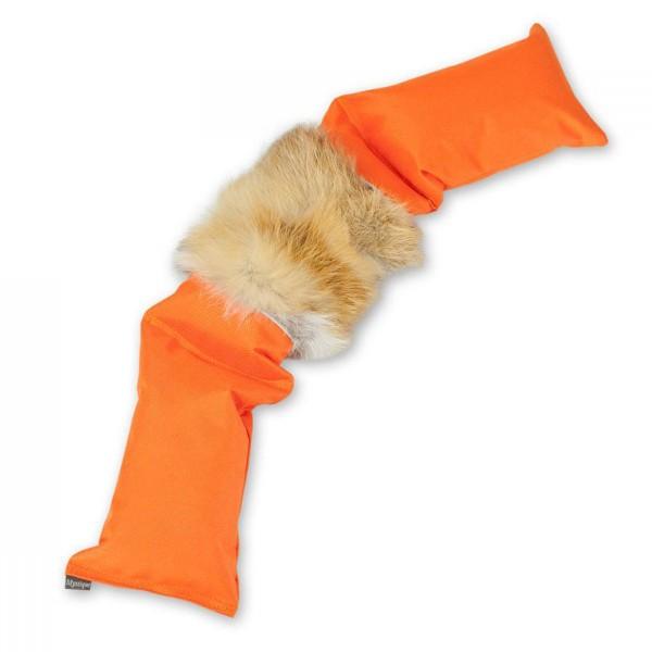Mystique 3-teiliges Dummy mit Fuchsfell orange