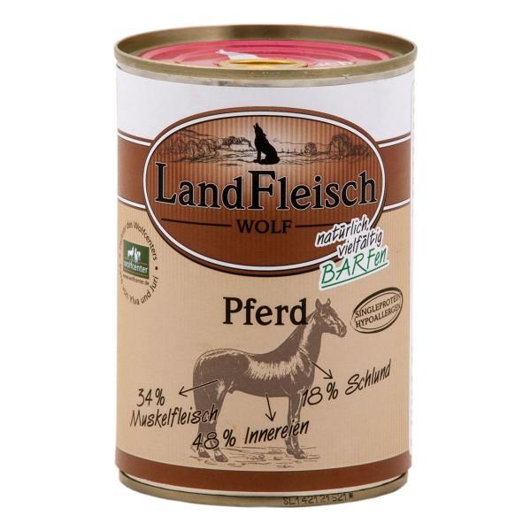 Landfleisch Wolf Sensibel Pferd