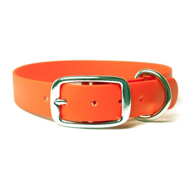Mystique Biothane Halsband De Luxe orange