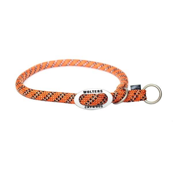 Wolters Schlupfhalsband Everest reflektierend orange-schwarz