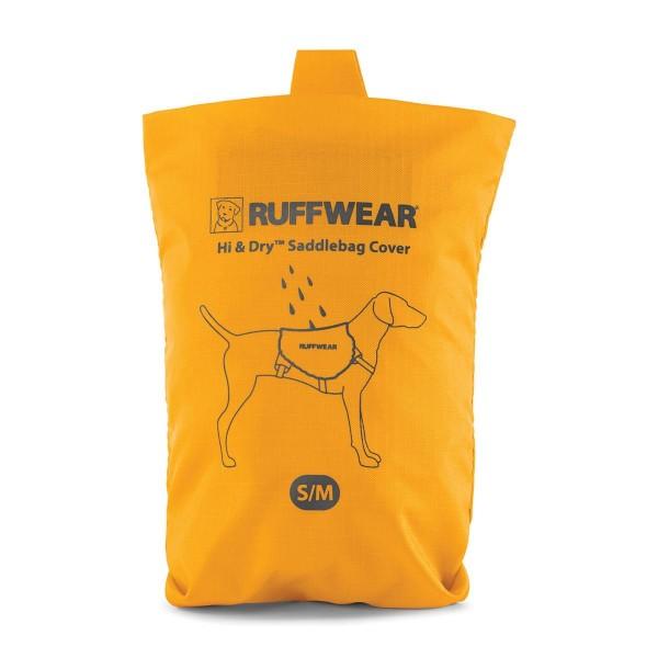 Ruffwear Hi & Dry Saddlebag Cover Regenschutz für Hunderucksack Sunrise Yellow