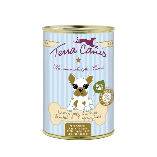 Terra Canis Welpenmenü Lamm mit Zucchini, Fenchel und Magerjoghurt