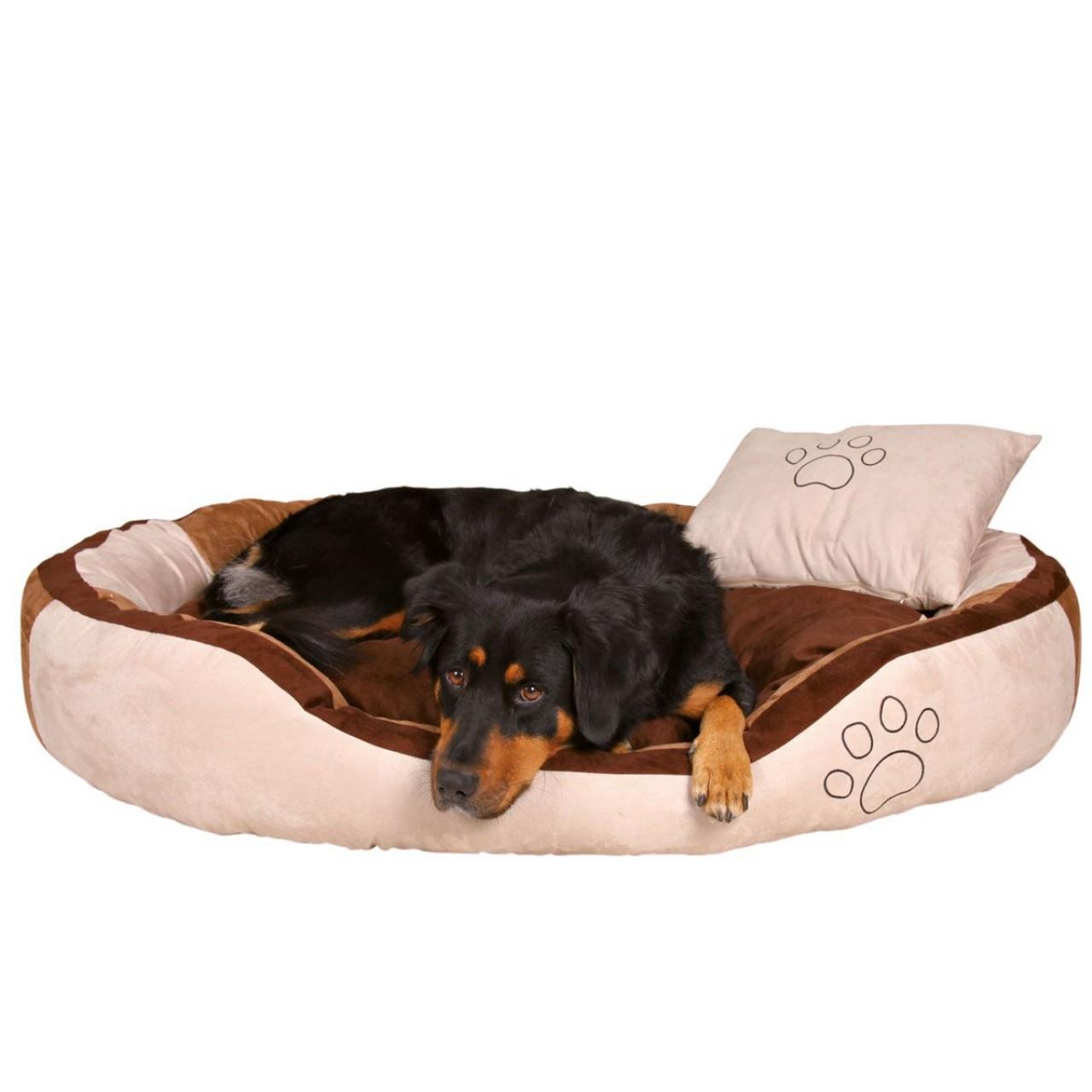 Hundebett Bonzo braun-beige