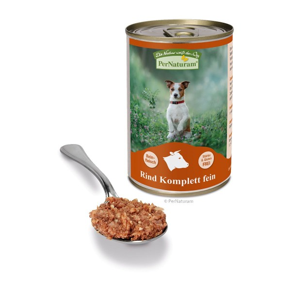 PerNaturam Reinfleisch Rind - Welpen spezial (fein)