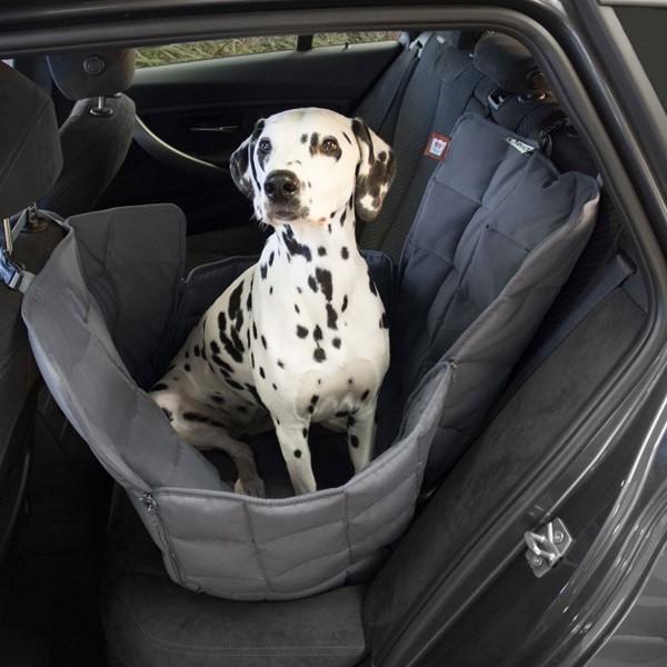 Doctor Bark 1-Sitz Autodecke grau