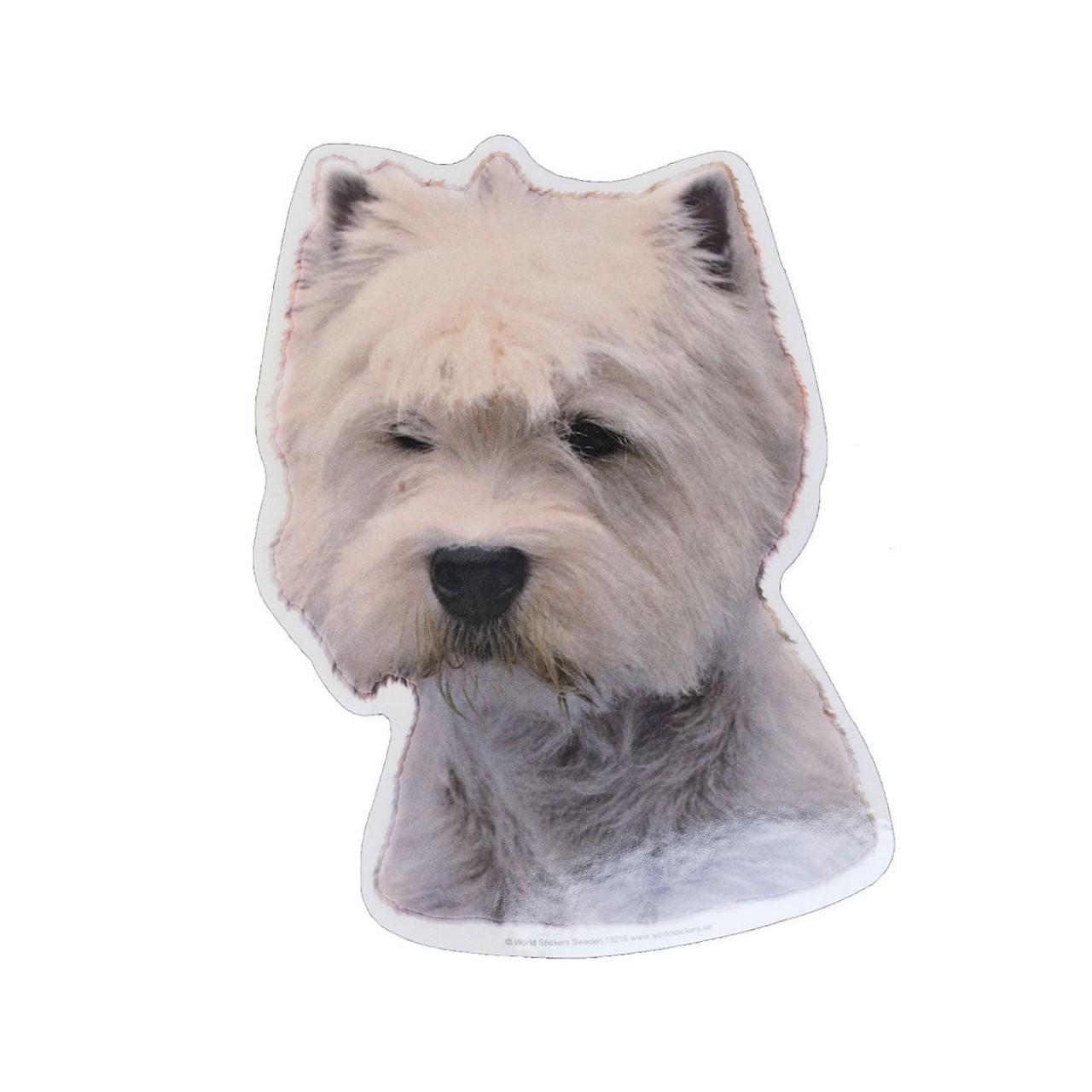 Aufkleber West Highland White Terrier