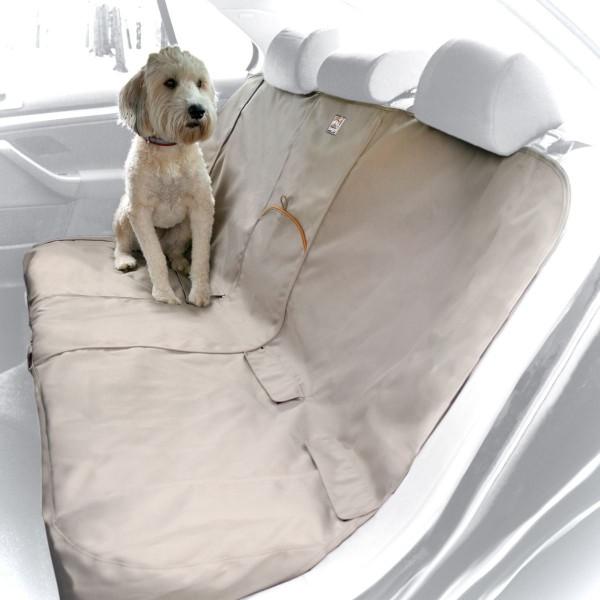 Kurgo Bench Auto Schutzabdeckung für Rücksitzbank sand