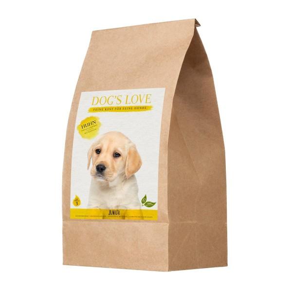 Dogs Love Junior Huhn mit Süßkartoffel & Karotte