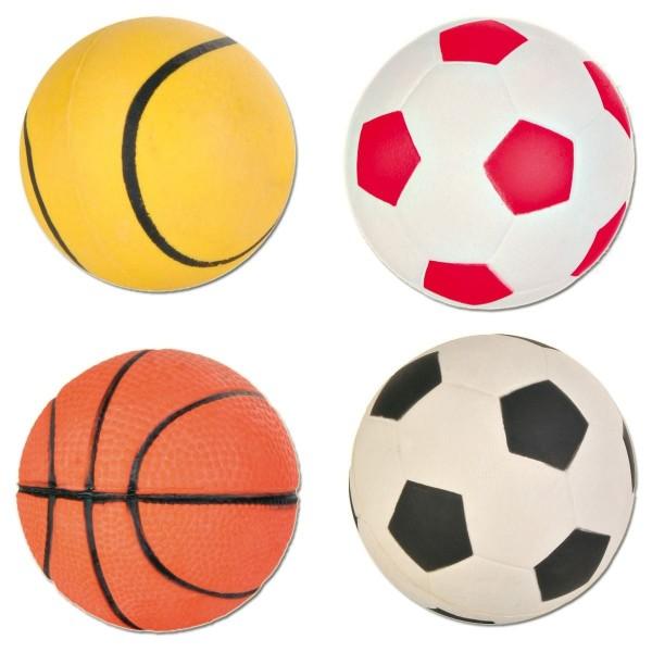 Hunde Spielball Moosgummi