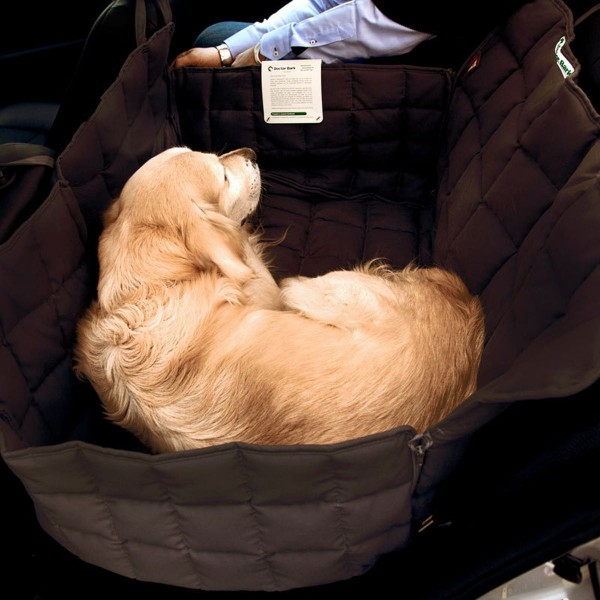 Doctor Bark 2-Sitz Autodecke braun