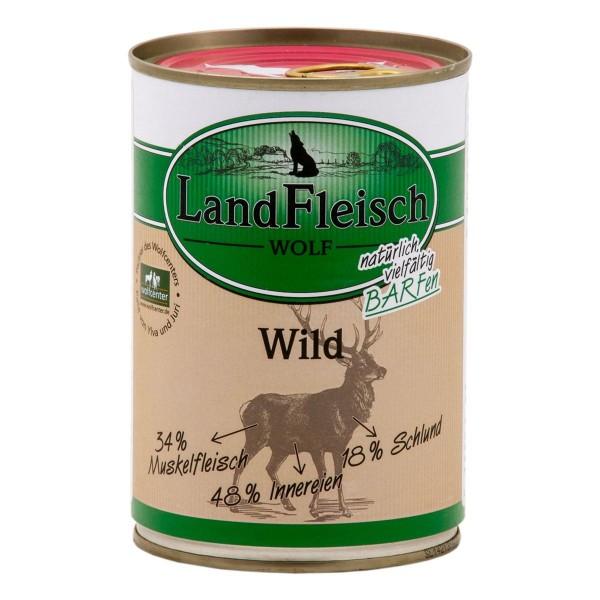 Landfleisch Wolf Sensibel Wild