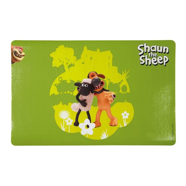Shaun das Schaf Napfunterlage Shaun und Bitzer