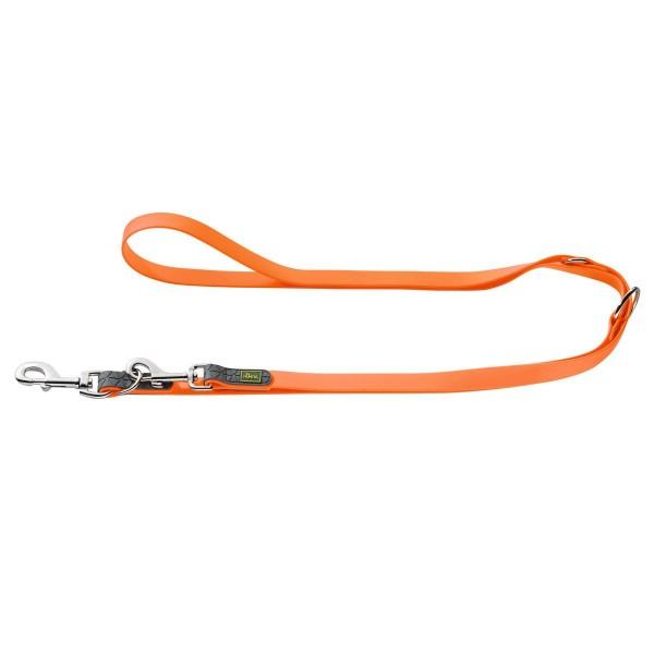 Hunter Convenience verstellbare Führleine neon orange
