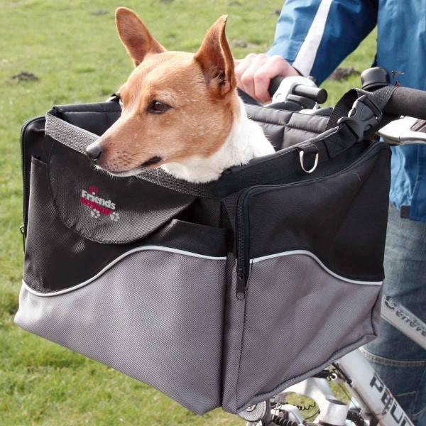 Fahrrad Hunde Frontbox De Luxe