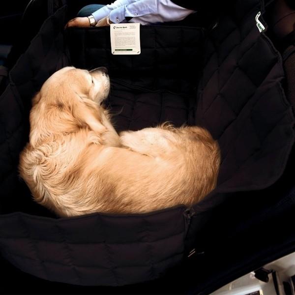 Doctor Bark 2-Sitz Autodecke schwarz