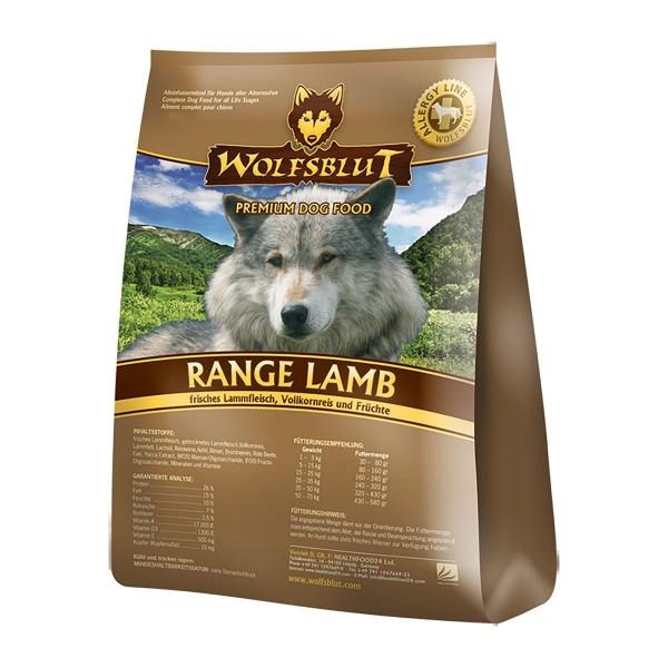 Wolfsblut Trockenfutter Range Lamb