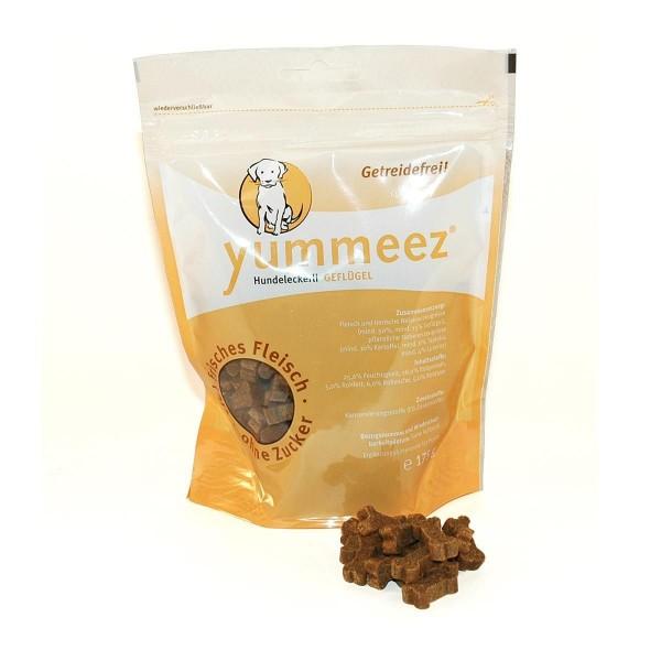 Yummeez Hundesnacks Getreidefrei Geflügel